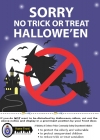 Tick or treat   posters  and advice